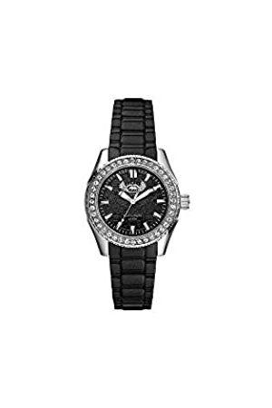 Marc Ecko Reloj Análogo clásico para Mujer de Cuarzo con Correa en Silicona E11599M1