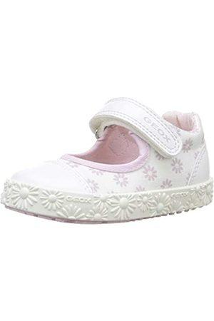 Geox B Kilwi Girl J, Bailarinas para Bebés, White/Pink C0406