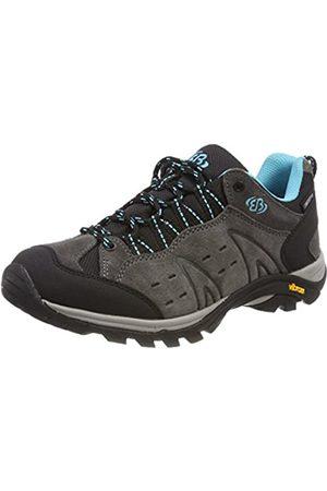 Bruetting Mount Bona, Zapatos de Low Rise Senderismo para Mujer, Gr/Türkis