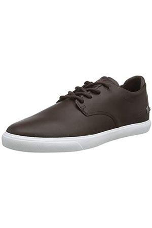 Lacoste ESPARRE BL 1 CMA, Zapatillas para Hombre, (Dark Brown/White)