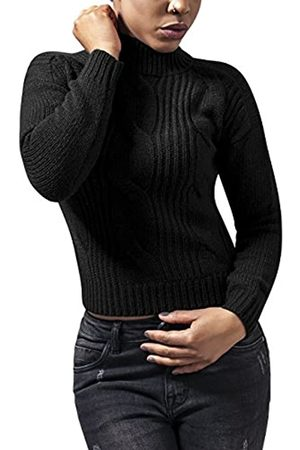 Urban classics Ladies Short Turtleneck Sweater Jersey Cuello Vuelto