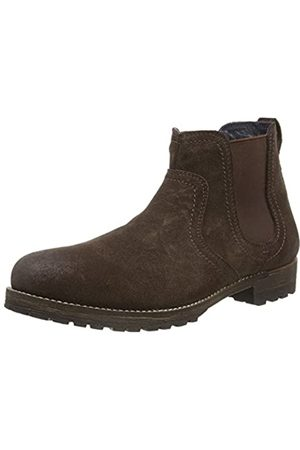 Red Tape Clifton Botas chelsea hombre, (Waxy Brown)