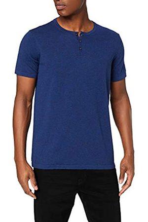 FIND Marca Amazon - C16-461S Camisetas de hombre, (Blue Spacedye (B8by27)