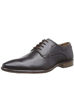 Bugatti R26071, Zapatos de Cordones Derby para Hombre, -Schwarz (Schwarz/ 105)