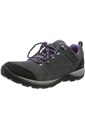 Columbia Fire Venture S II WP, Zapatos de Senderismo Impermeables para Mujer, (Titanium MHW, P 049)