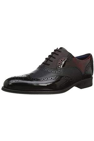 Ted Baker Muktti, Zapatos de Cordones Brogue para Hombre, (Black Black)