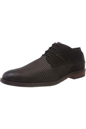 Bugatti 3.11528E+11, Zapatos de Cordones Derby para Hombre, (Schwarz 1000)