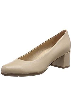 Geox D New Annya Mid A, Zapatos de Tacón para Mujer, (Lt Taupe C6738)