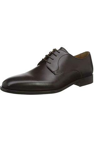 HUGO BOSS Lisbon_derb_BU, Zapatos de Cordones Derby para Hombre, (Dark Brown 202)