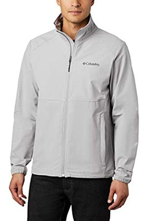 Columbia Canyon Chaqueta Softshell sin Capucha, Hombre, Grey Heather