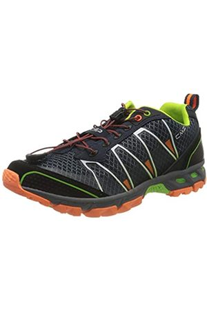 CMP Altak Trail Shoe, Zapatillas de Running para Asfalto para Hombre, (Navy/Mint/Orange Fluor 97bd)