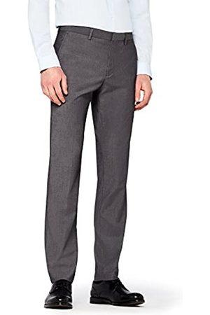 FIND Marca Amazon - Pantalón de Traje Ajustado Hombre