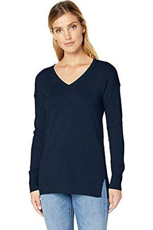 Amazon Jersey ligero tipo túnica con cuello en V para mujer