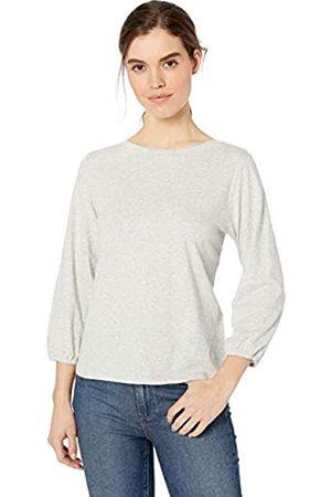 Daily Ritual Marca Amazon - : camiseta de manga elástica larga de algodón ligero para mujer.