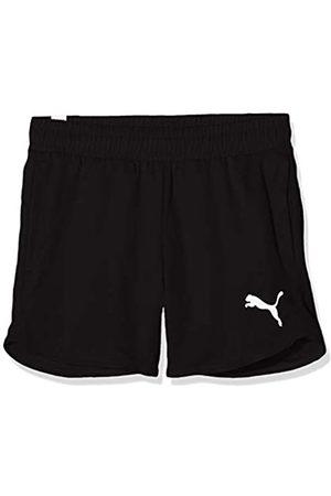 Puma Active Shorts G Pantalones Cortos, Niñas, Black