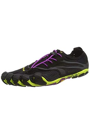 Vibram V-Run, Zapatillas Mujer, (Black/yellow/purple)
