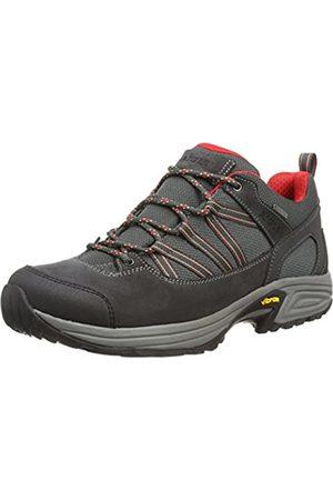 Aigle Mooven Gore-Tex, Zapatos de Low Rise Senderismo para Hombre, (Darkgrey/Rouge)