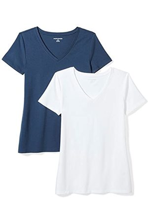 Amazon 2-Pack Short-Sleeve V-Neck Solid T-Shirt fashion-t-shirts