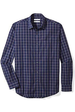 Amazon Long-Sleeve Plaid Shirt Camisa