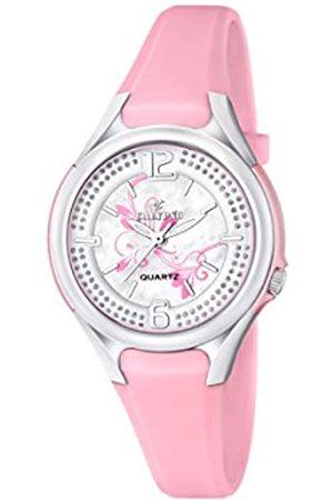 Calypso – Reloj de Cuarzo para Mujer con Correa de plástico de Plata Esfera analógica Pantalla y k5575/2