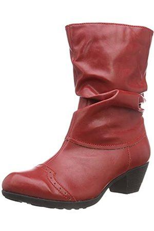 Andrea Conti 3009213 - botas de caño bajo de material sintético mujer, - Rouge (021)