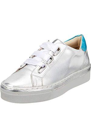 Marc Verena, Zapatillas para Mujer, (Laminato Silver-Blue 00750)