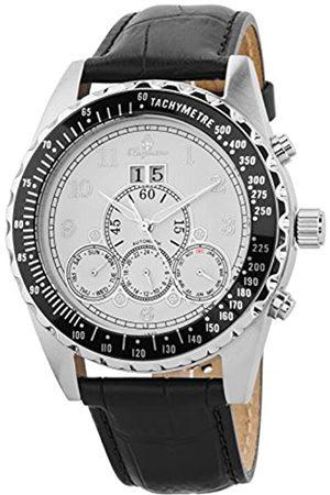 Burgmeister BM302a-182 - Reloj de Pulsera Hombre, Piel