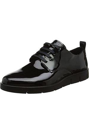 Ecco Bella Zapatos de cordones derby Mujer, (Black)