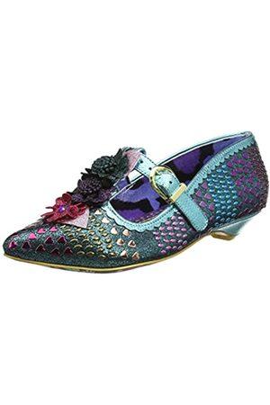 IRRA4|#Irregular Choice Love Scale, Zapatos con Tacon y Tira Vertical para Mujer
