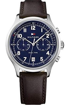 Tommy Hilfiger Reloj Análogo clásico para Hombre de Cuarzo con Correa en Cuero 1791385