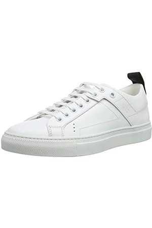 HUGO BOSS Mayfair Detlow Cut-c, Zapatillas para Mujer, (White 100)