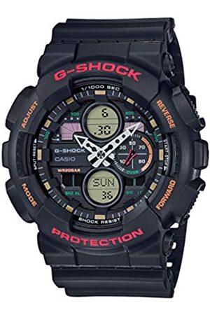Casio Reloj Analógico-Digital para Hombre Correa en Resina GA-140-1A4ER