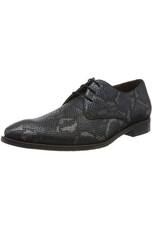 Floris van Bommel 18124/01, Zapatos de Cordones Derby para Hombre, (Blue Snake 01)
