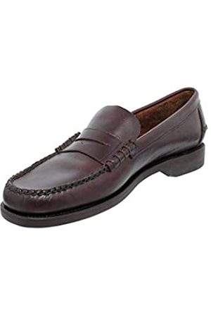 SEBAGO Classic Dan Waxy, Mocasines (Loafer) para Hombre, Marron (Dk Brown 901)