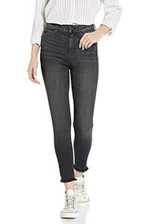 Goodthreads High-Rise Skinny Jeans, Cropped Fray Vintage Black