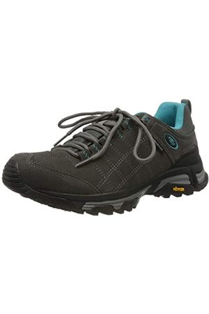 Bruetting Mount Forbes, Zapatos de Low Rise Senderismo para Mujer, (Gr/Türkis Gr/Türkis)