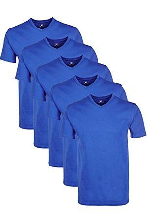 Lower East Herren T-Shirt mit V-Ausschnitt, 5er Pack, Einfarbig, Gr. XXX-Large