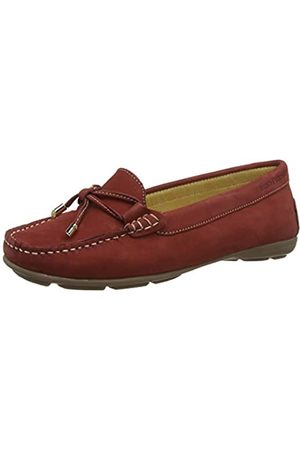 Hush Puppies Maggie, Mocasines para Mujer, Red