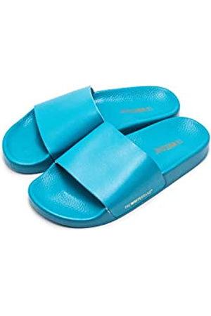 THE WHITE BRAND Minimal, Sandalias con Punta Abierta para Mujer, Turquesa (Turquoise Turquoise)