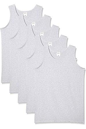 Fruit Of The Loom Camiseta de Tirantes para Hombre (Pack de 5), (Heather Grey)
