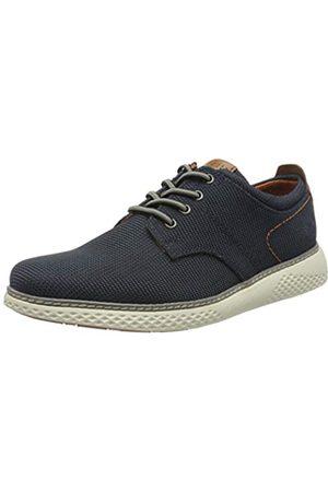 Bugatti 321763036900, Zapatos de Cordones Derby para Hombre, (Dark Blue 4100)