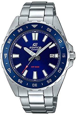 Casio Reloj Analógico para Hombre de Cuarzo con Correa en Acero Inoxidable EFV-130D-2AVUEF
