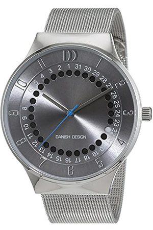 Danish Design Hombre-Reloj analógico de Cuarzo de Acero Inoxidable 3314492