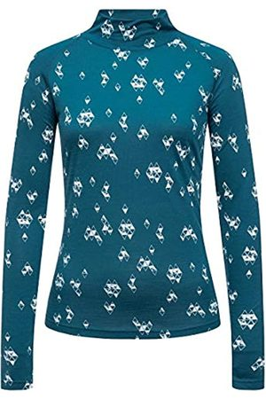 Supernatural W Base Turtle Neck 175 - Jersey de Cuello Alto para Mujer, Mujer, SNW013797I42S