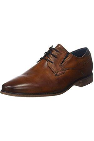 Bugatti 311251011100, Zapatos de Cordones Derby para Hombre, (Cognac 6300)
