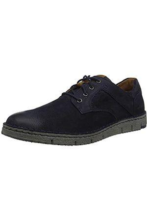 Josef Seibel Ruben 46, Zapatos de Cordones Derby para Hombre, (Ocean-Kombi 796 531)