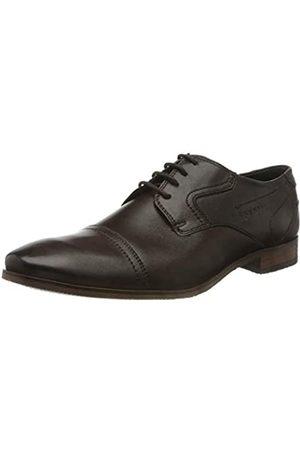 Bugatti 3.13151E+11, Zapatos de Cordones Derby para Hombre, (Dark Brown 6100)