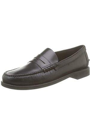 SEBAGO Classic Dan Waxy, Mocasines (Loafer) para Hombre, (Black 902)
