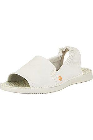 softinos Tee430sof, Sandalias con Punta Abierta para Mujer, (White 009)