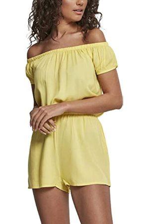 Urban classics Ladies Off Shoulder Short Jumpsuit Mono